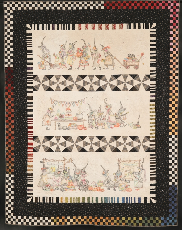 A Tale of The Salem Witches Quilt Guild - Those Pesky Goblins! 2020 14520